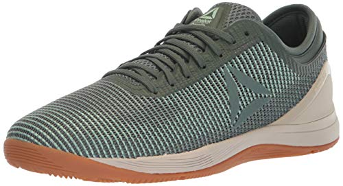 Reebok Men's CROSSFIT Cross Trainer, Industrial Green/Chalk Gr, 12 M US