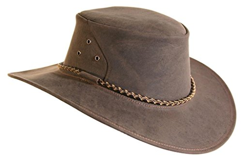 KakaduTraders Australia The Roo Leather Hat, Made In Australia by KakaduTraders Australia
