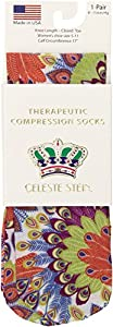 Celeste Stein CMPS-1736 Therapeutic Compression Socks, 0.6 Ounce