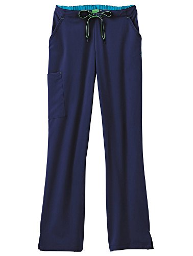 Jockey Women's Scrubs 3-in-1 Convertible Scrub Pant, New Navy, - Set 1 Pant