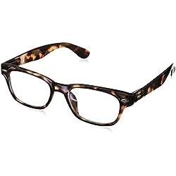 Peepers Men's Clark Fashion Retro Eyeglasses,Brown,45 mm