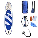 HgzBxL Recreación al Aire Libre Deportes acuáticos Surf Tableros de Remo inflables for Deportes acuáticos Juveniles portátiles Stand Up Juego de Tablas de Surf Sup Ligeras for Todos los Niveles