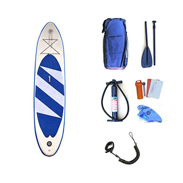 Stand Up Paddel Gonfiabile Gioventù Sport di Acqua gonfiabili Stand Up Paddle Boards Conveniente Leggero SUP Surfboard… 1 spesavip
