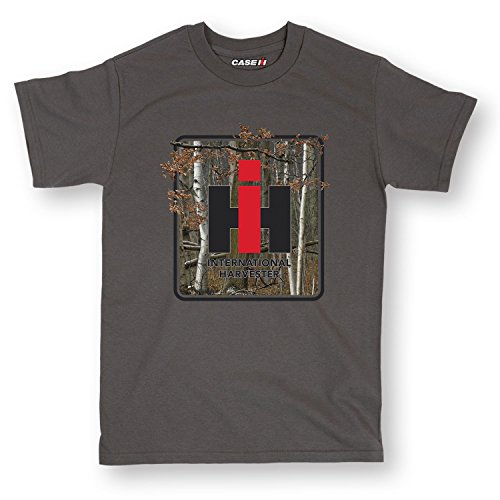 Country Casuals IH Camo Square-Adult Short Sleeve Tee-L