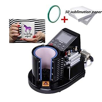 WANG Taza neumática Prensa del Calor de la máquina Impresora de ...
