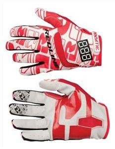 Redline Bicycles Flight Red/White Adult Small Bicycle Gloves