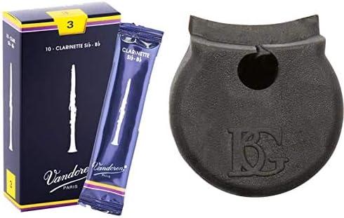 Vandoren CR103Caja de 10 cañas Tradicional n.3 para Clarinete + BG A21Soporte Pulgadas para Clarinete