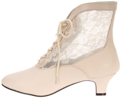 Eu 05 Stivaletti ivory Lace Pu 42 Pleaser Bianco Dame Donna qRcZUzfzW