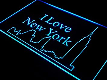 ADVPRO j394-b I Love New York City Bar Decor Neon Light Sign ...