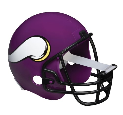 Vikings Office Minnesota - Scotch Magic Tape Dispenser, Minnesota Vikings Football Helmet with 1 Roll of 3/4 x 350 Inches Tape