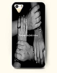 iPhone 5 5S Case OOFIT Phone Hard Case ** NEW ** Case with Design The Only Way To Have Friends Is To Be One.- Proverbs Of Life - Case for Apple iPhone 5/5s