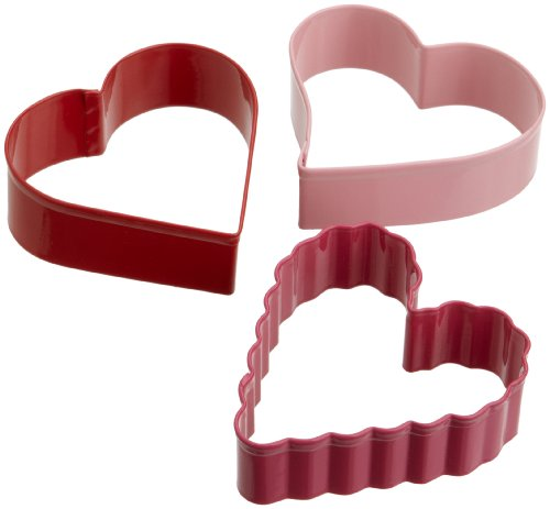 Wilton 3 Piece Hearts Cutter Set