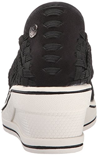 Bernie Mev Womens Deluxe Wedge Black yeXcXJc