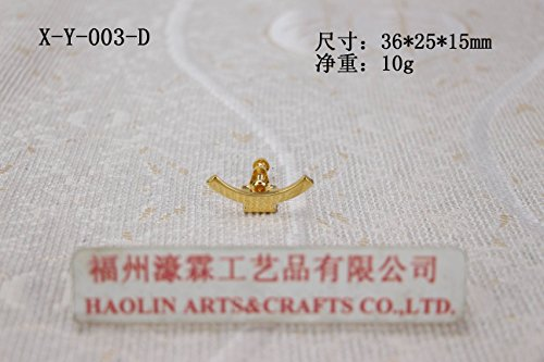 (Gold Gilding(model X-Y-003-D)-for monstrance Brass Church Chapel Reliquary Altar Removable. Our company have 8 kinds of luna for your choice. )