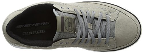 Skechers Sport Mens Arcade Chat Mf Fashion Sneaker Grigio