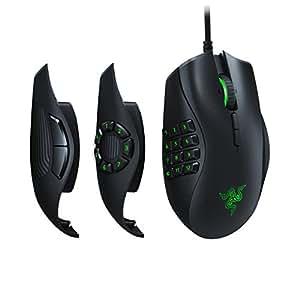 Razer Naga Trinity Multi-Color Wired MMO Gaming Mouse, Black (RZ01-02410100-R3M1)