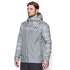 Under Armour Men's Storm Surge Waterproof Jacket, Overcast Gray/Stealth Gray, X-Large