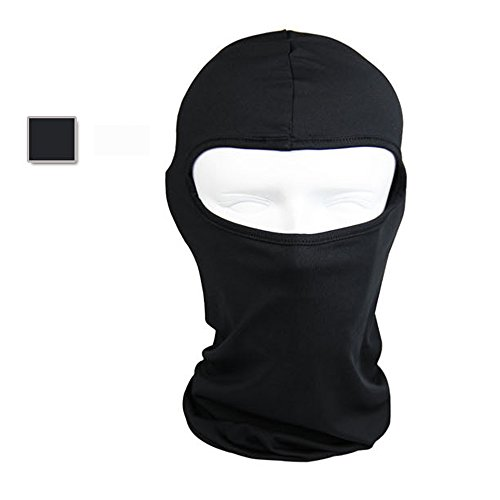 [Ezyoutdoor Windproof Hat Fishing Hunting Cycling Cap Dustproof & Windproof Sunshield Balaclava Sun Hat Headgear Face Mask Neck Warmer Full] (Latex Wolf Suit)