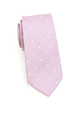 Bows-N-Ties Men's Necktie Summer Pastels Linen Skinny Matte Tie 2.75 Inches