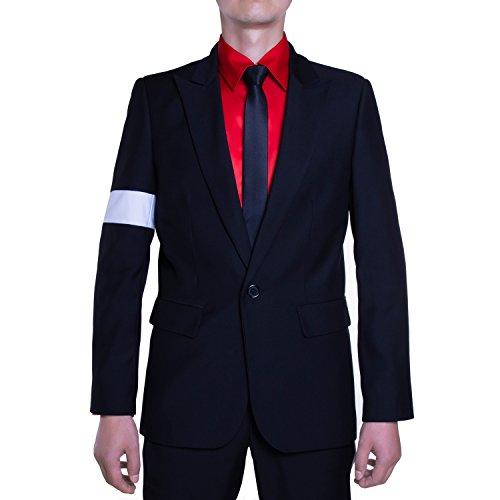 Michael Jackson Costume Dangerous Armband Suit Jacket - Medium -