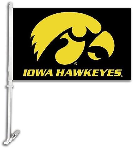 BSI Iowa Hawekeyes Set of 2 Car Flags 97124