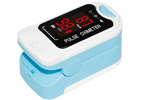 CMS50M LED Finger Pulse Oximeter spo2 monitor Fingertip Oxygen Monitor by Co: Amazon.es: Salud y cuidado personal