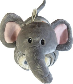little-miracles-baby-blanket-plush-elephant-snuggle-me-sherpa