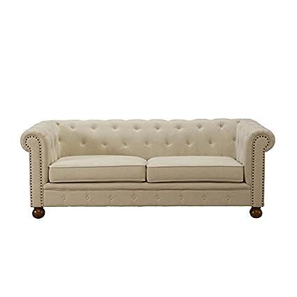Merveilleux Winston Sofa In Linen Fabric
