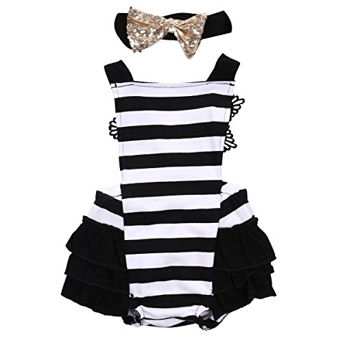 Newborn Baby Jumpsuit Playsuit Headband product image