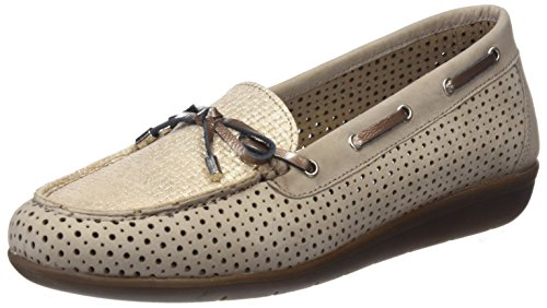 24 HORAS 23533, Slippers Donna Beige (Taupe 10)