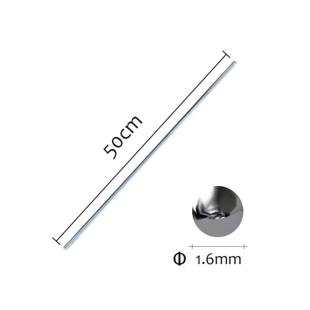 Hankyky Low Temperature Aluminium Welding Rods 10//20 50Pcs 500mm x 2mm 3.5g Kein Bedarfs-L/ötpulver