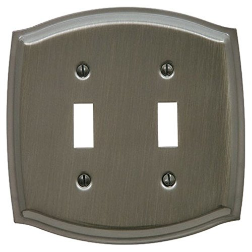 Baldwin - 4766 Double Toggle-Antique Nickel (Hand-Relieved Finish) -