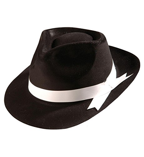 Sancto Gangster HAT Flocked Black ()