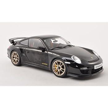 PoRSche 911 (997) GT2 RS, black/Carbon, 2010, Model Car, Ready-made, AutoArt 1:18