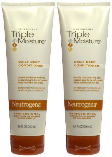 Neutrogena Triple Moisture Daily Deep Conditioner, 8.5 fl oz
