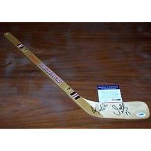 PROBERT & MURPHY (Blackhawks) Signed Mini-stick w/ - PSA/DNA Certified - Autographed NHL Sticks