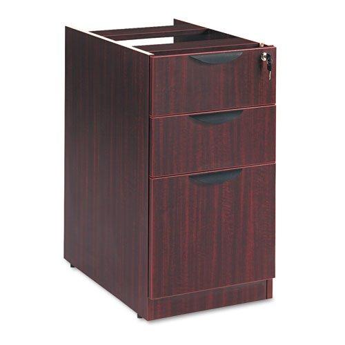 Alera Valencia Series Box/Box/File Full Pedestal File - Valencia 2 Box/1 File Full Pedestal, 15-5/8w x 20-1/2d x 28-1/2h, Mahogany by Alera
