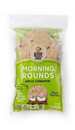 Ozery Bakery Morning Round Pita Bread, Apple Cinnamon, 12.7 Ounce (Pack of 6)