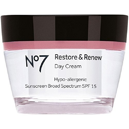 Boots No7 Restore & Renew Day Cream, SPF 15 1.6 Oz (50 Ml)