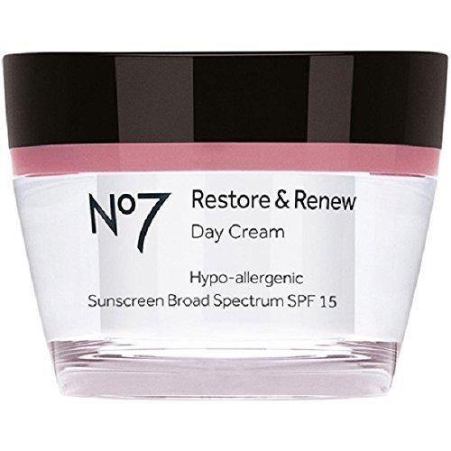 Boots No7 Restore & Renew Day Cream, SPF 15 1.6 Oz
