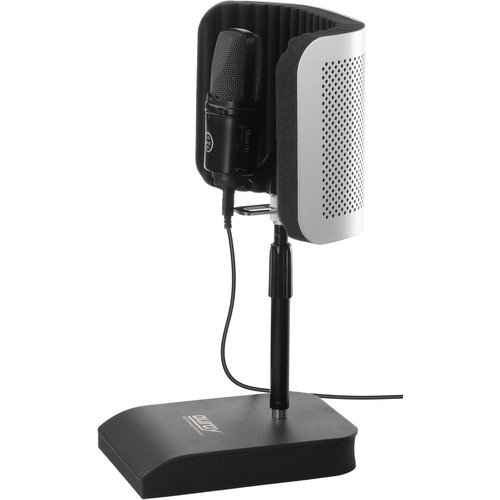 auray rfdt 128 desktop reflection filter and mic stand ebay. Black Bedroom Furniture Sets. Home Design Ideas