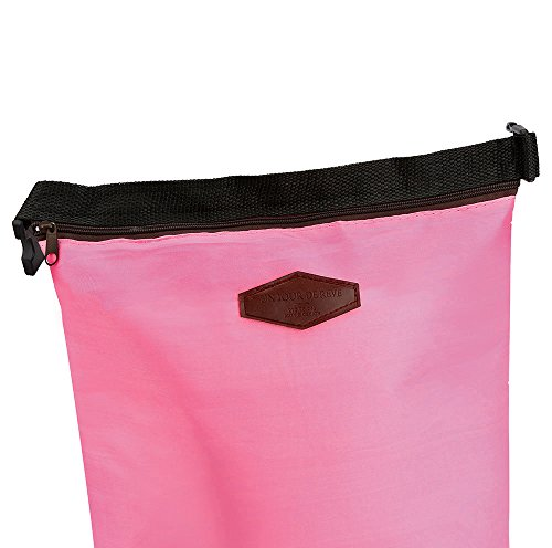 HighlifeS Lunch Bag Waterproof Thermal Fashion Cooler Insulated Lunch Box More Colors Portable Tote Storage Picnic Bags (Pink) by HighlifeS (Image #3)