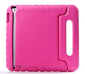 KIDS HANDLE SHOCK PROOF SOFT EVA FOAM STAND CASE COVER FOR SAMSUNG IPAD mini HOT PINNK