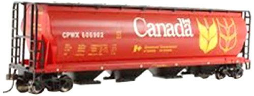 Bachmann Trains Canadian Grain 4 Bay Cylindrical Grain (Bachmann Cylindrical Hopper)