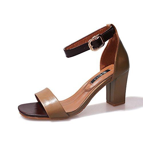 alto de Donyyyy de Thirty de five sandalias con palabra tacón zapatos Bolsa estilo una rvqxXSr