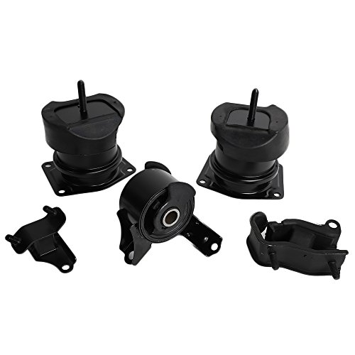 Front Right Rear Engine Motor Transmission Mount Set Fit for 98-02 Honda Accord 3.0L & 99-03 Acura TL 3.2L, 5pcs ()