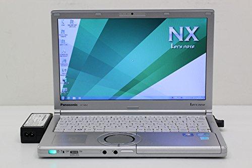 【中古】 Panasonic CF-NX2JDPYS Core i5 3320M 2.6GHz/4GB/320GB/12.1W/WXGA++(1600x900)/Win7   B074FWB4YB