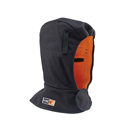 (N-Ferno 6882 Hard Hat Winter Liner, FR Rated, Thermal Fleece Lining, Shoulder Length)