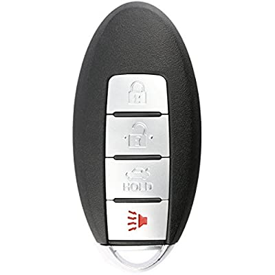 KeylessOption Keyless Entry Remote Control Car Smart Key Fob Replacement for Altima KR5S180144014: Automotive
