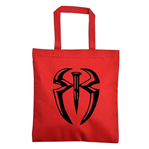 Roman Reigns WWE Canvas Tote Bag (Red) by Squared Circle